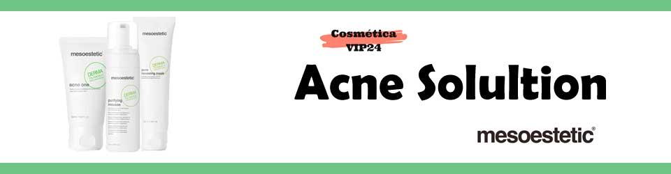 línea acne solution mesoestetic